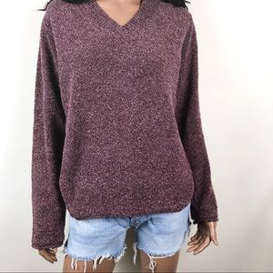 Columbia Nubby V-Neck Sweater